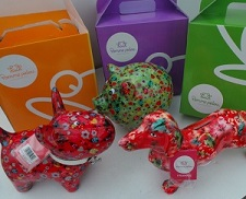 Pomme pidou collectable moneybox animals