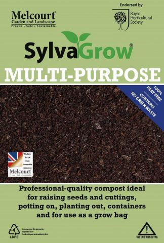 Melcourt Sylvagrow Peat Free Multi Purpose Compost 15 Litre Bag