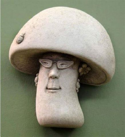 Fun Gal Home & Garden Ornament Made from Reconstituted Stone