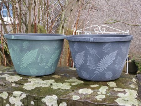 Fern Planter Pot 28cm in diameter. 11""