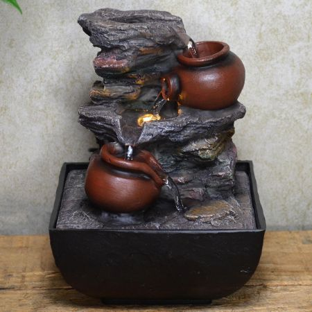 Pot Cascade (small) Indoor Fountain Water Feature