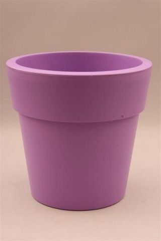 Plastic Flower Pot Shape Planter LILAC 29cm diameter  Indoors or Out