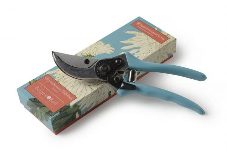 RHS Gifts from Burgon & Ball. CHRYSANTHEMUM Design Secateurs in Gift Box