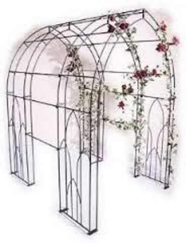 Poppy Forge Unique Design Premium Quality Metal Gothic Garden Tunnel