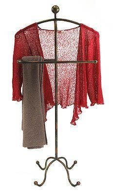 Metal Clothes Stand with hot metal effect.  Very useful clothes rack