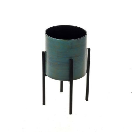 Plant Pot on Stand 21cm tall.  House Plant Planter on Stand