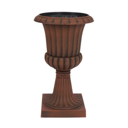 Large Urn Planter in Vintage Rust Finish. D49 x H 79m