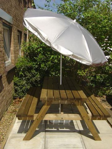 Cave Innovations The Silverback UV Protective Garden Parasol