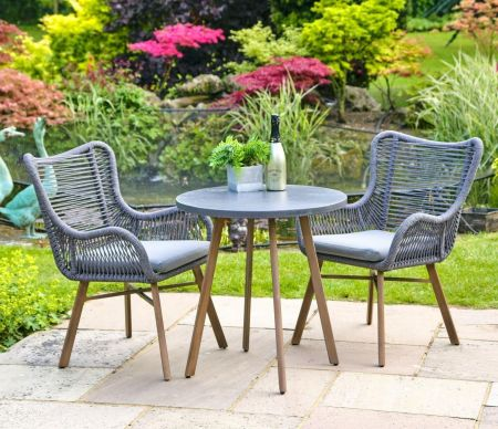 Santa Fe 2 Seater Garden Dining Set. Seating for two