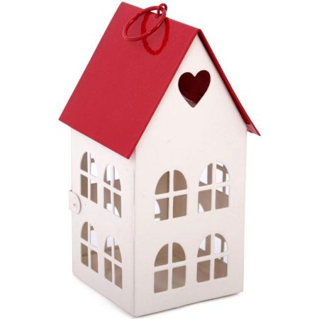 House of Love Lantern. Valentines Day Gift