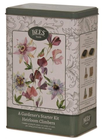 Bees Seeds Heirloom Climbers Starter Seed Kit