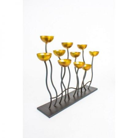 Contemporary Large Candelabra for 10 candles