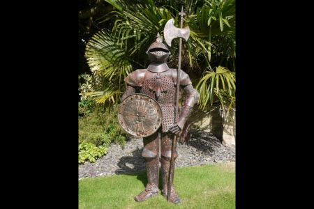 Suit of Armour Garden Statue 140cm tall Knight Statue