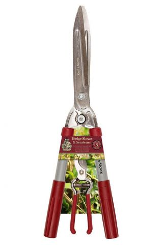 Hedge Shears from Kent & Stowe with a FREE pair of Secateurs