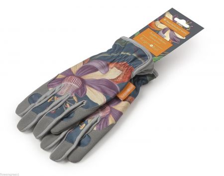 RHS Gifts from Burgon & Ball. PASSIFLORA Design Gloves