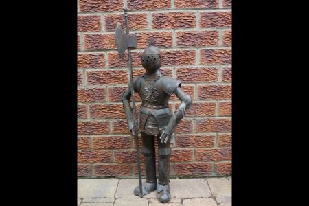 Suit of Armour Garden Statue 89cm tall Knight Statue