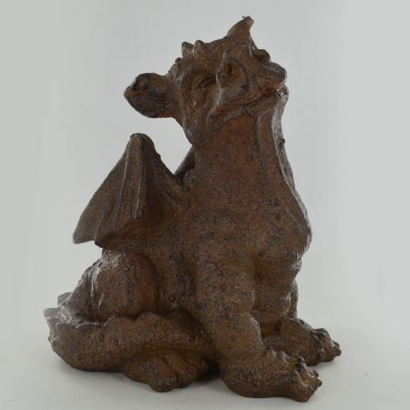 Sitting Dragon Garden Ornament made from Resin