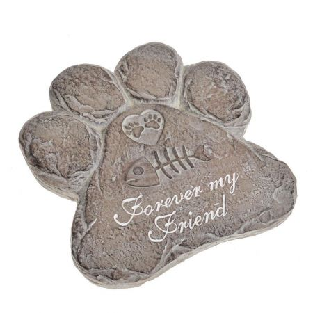 Memorial Cat Paw Garden Ornament