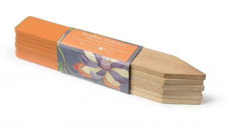 Burgon & Ball RHS Wooden Plant Labels - Passiflora