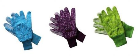 Value Triple Pack Gardening Gloves from Briers. Medium Size