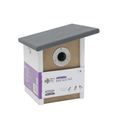 Elegance Sloping Roof Tit Nest Box Made from FSC wood