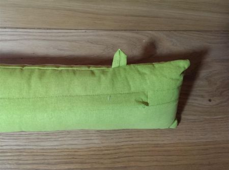 Draught Excluder 85 x 15cm 100%Cotton with Washable Inner