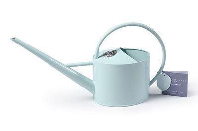Sophie Conran Indoor Watering Can.  Stylish designer can in duck egg blue