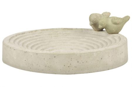 Bird Bath Made from Reconstituted Stone. 29cm diameter