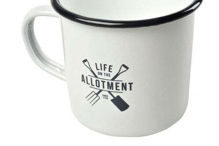 Burgon & Ball Allotmenteer Enamel Mug