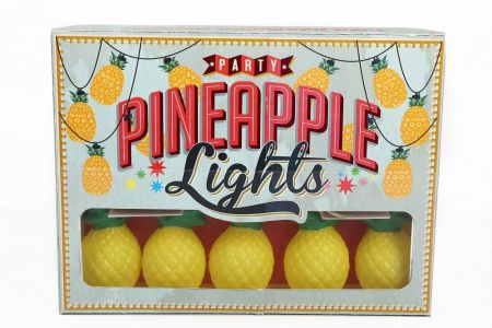 Pineapple String Party Lights.  10 Leds. Very Kitsch
