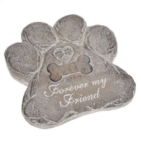 Memorial Dog Paw Garden Ornament
