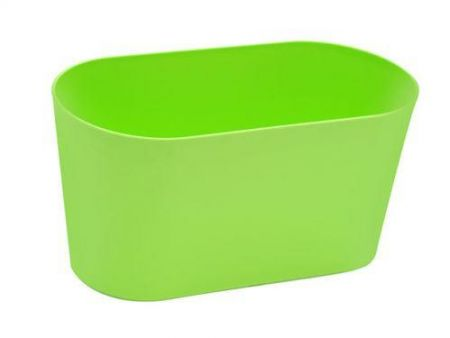 Modern planter, trough.  Perfect windowsill planter for herbs.  30cm wide.[Lime]
