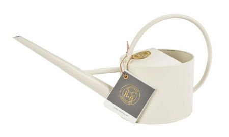 Sophie Conran Indoor Watering Can.  Stylish designer can in Buttermilk
