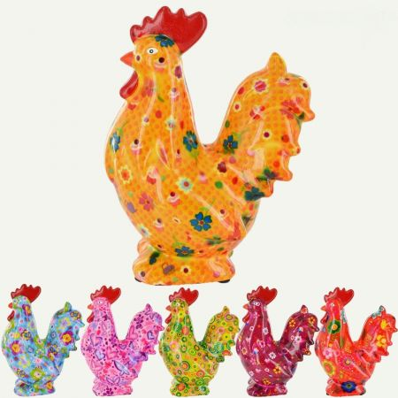 Pomme Pidou Maurice the Rooster Money Box RED x1