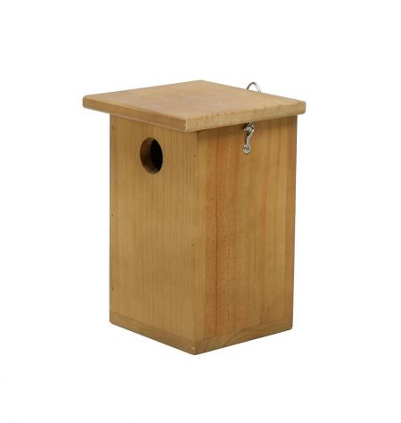Wooden Blue Tit Nest Box Made from FSC wood Easy to Clean