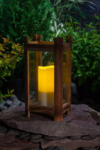Woodland Candle Lantern Height 20.5cm.  Small