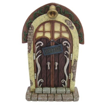 Enchanting Fairy, Elf, Pixie Door with Welcome Sign