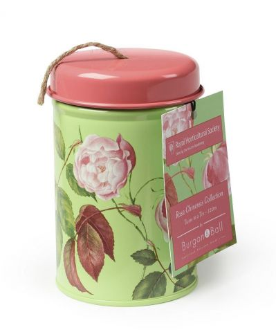 Burgon & Ball RHS Twine in a Tin - Rosa