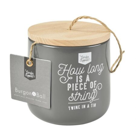 Twine Dispenser with 120m Jute Twine From Burgon & Ball