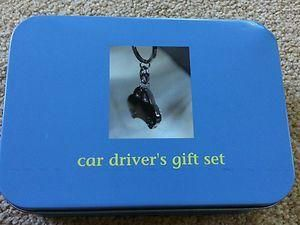 Car drivers gift set in a tin.  Great Christmas present