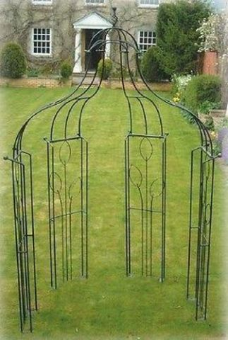 Poppy Forge Unique Design Premium Quality Metal Flower Bower.  Deco