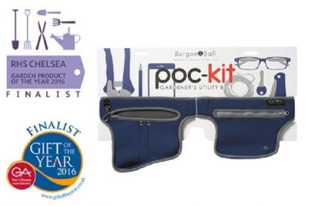 Burgon & Ball Poc-Kit Gardeners Utility Tool Belt - Navy