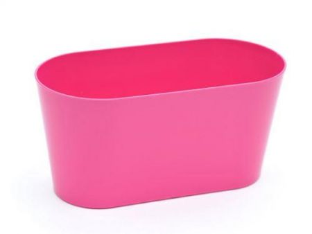 Modern planter, trough.  Perfect windowsill planter for herbs.  30cm wide.[Fuchsia]