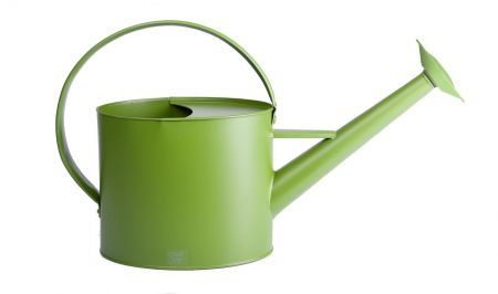 Metal Outdoor Watering Can in Pistachio Colour