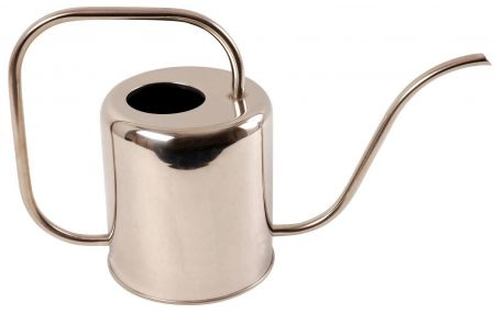 Stainless Steel Indoor Watering Can. Holds 1.5 litre