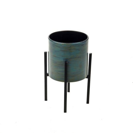 Plant Pot on Stand 18cm tall.  House Plant Planter on Stand