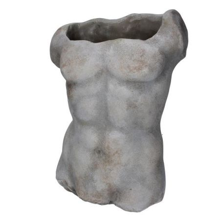 Male Form Planter Statue made from Reconstituted Stone Medium Size