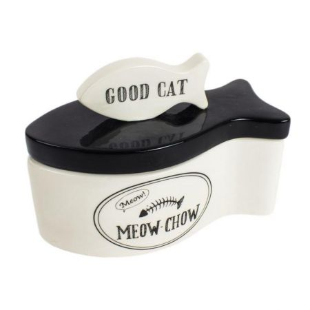 Ceramic Cat Treat Container RRP £25.99