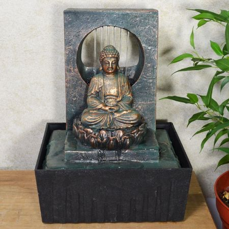 Buddha Indoor Fountain Water Feature