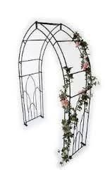 Poppy Forge Unique Design Premium Quality Metal Gothic Garden Arch